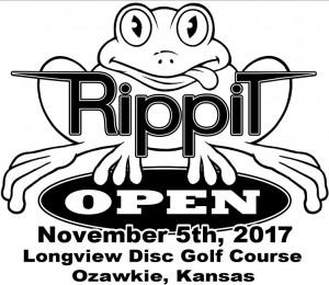 Rippit Disc Golf logo