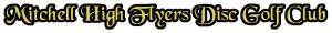 Mitchell High Flyers Disc Golf Club logo