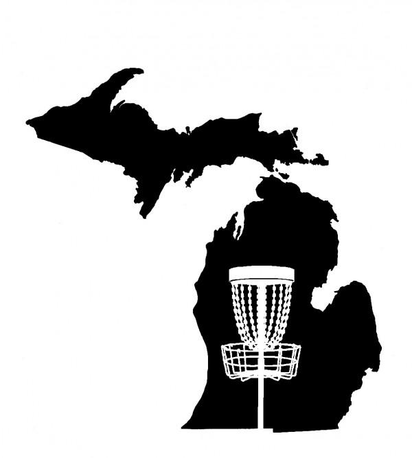 Michigan High School Disc Golf logo