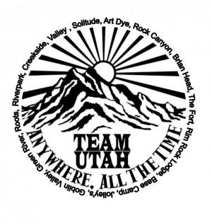 Team Utah Disc Golf logo