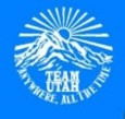 Team Utah Disc Golf logo