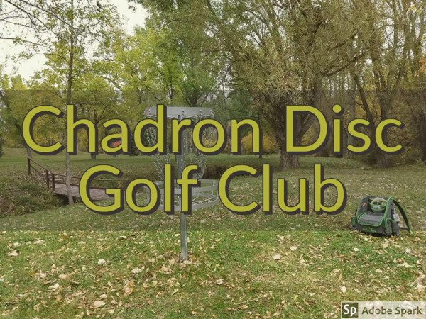 Chadron Disc Golf Club logo