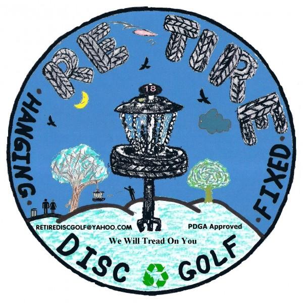 Re-Tire Disc Golf logo
