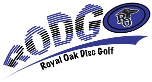 Royal Oak High School Disc Golf logo