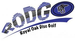 Royal Oak High School Disc Golf logo