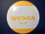 Wayne county disc golf association logo