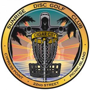 Sunrise Disc Golf Club ( formerly Bay Area Disc Golf Club) logo