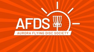 Aurora Flying Disc Society logo