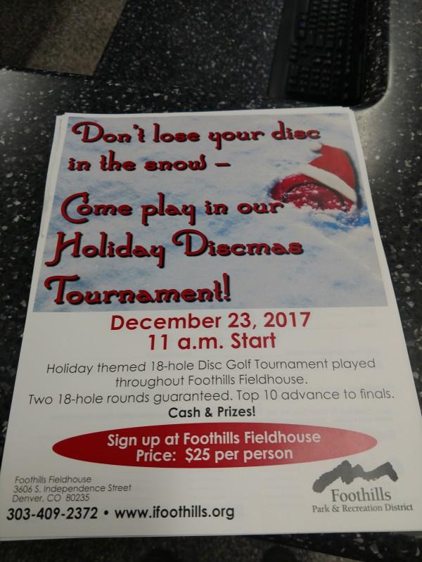 Foothills Indoor Putting league (Denver, Colorado) | Disc Golf Scene