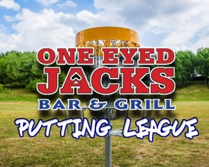 One Eyed Jacks Putting League logo