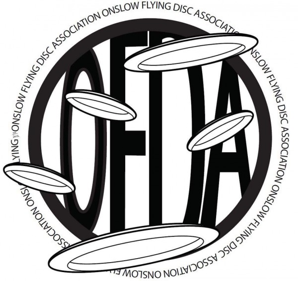 Onslow Flying Disc Assoc. (OFDA) logo