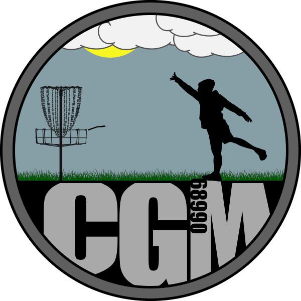 Chuck Mintz Disc Golf logo