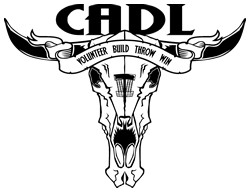 Capital Area Disc League logo