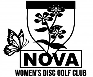 Northern Virginia Women's Disc Golf Club logo