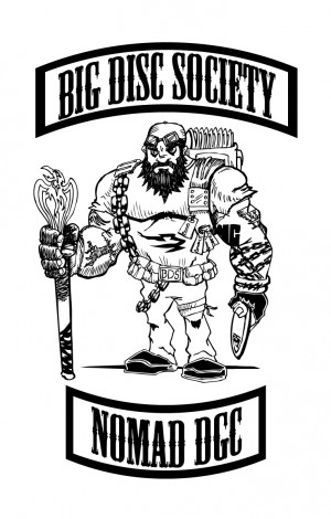 Big Disc Society Nomadic DGC logo