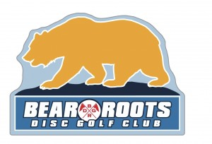 Bear Roots Disc Golf logo