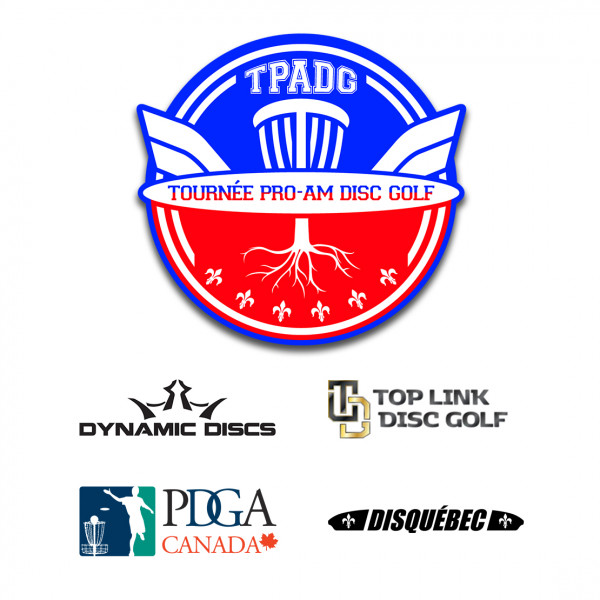 Tournée Pro-Am Disc Golf logo