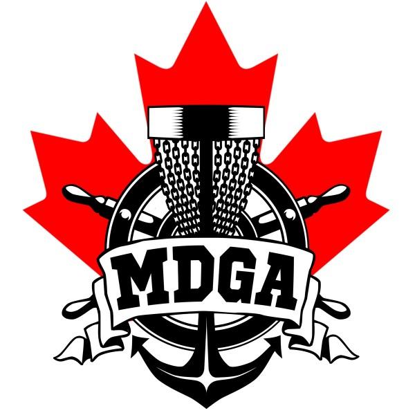 Maritime Disc Golf Association logo