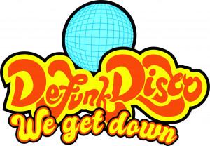 The Funky Bunch, DeFunk Disco DGC, DeFuniak Springs FL logo
