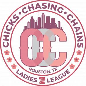 Chicks Chasing Chains logo