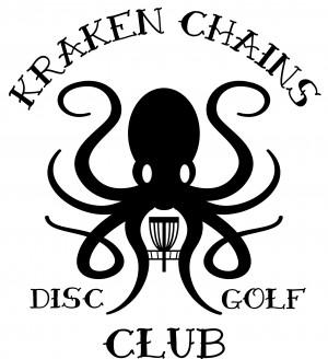 Kraken Chains Disc Golf Club logo