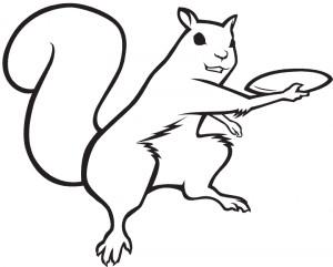 Flying Squirrel Disc Golf logo