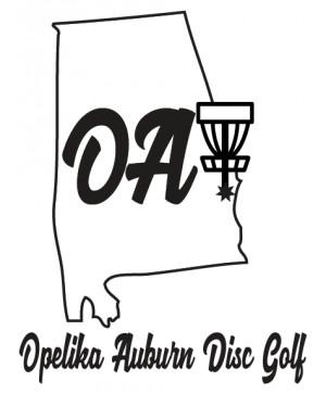 Opelika Auburn Disc Golf logo