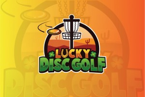 Lucky Disc Golf logo