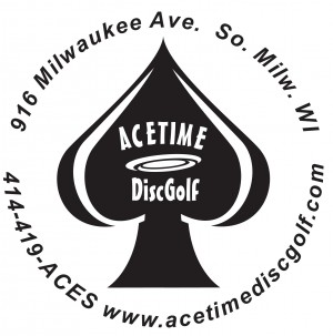 AceTime DiscGolf logo
