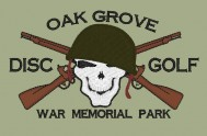 Oak Grove Disc Golf Club logo