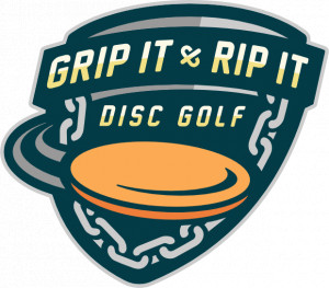Grip It and Rip It Disc Golf logo