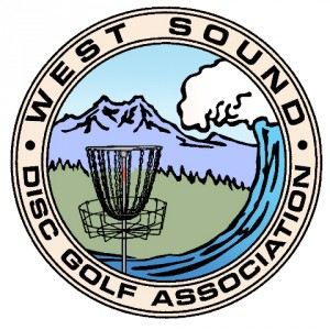 West Sound Disc Golf Association logo