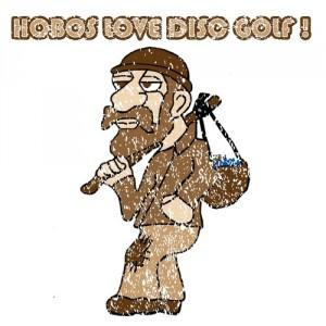 Hobos Love Disc Golf logo