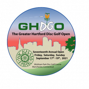 Greater Hartford Disc Golf Open logo
