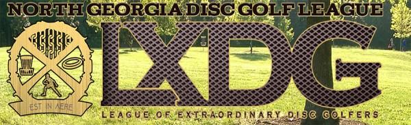 North Georgia Disc Golf League logo