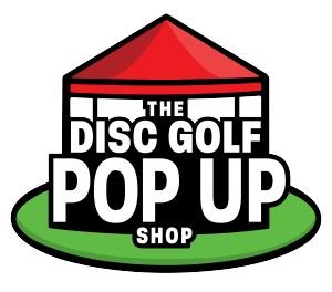 The Disc Golf Pop Up Shop logo