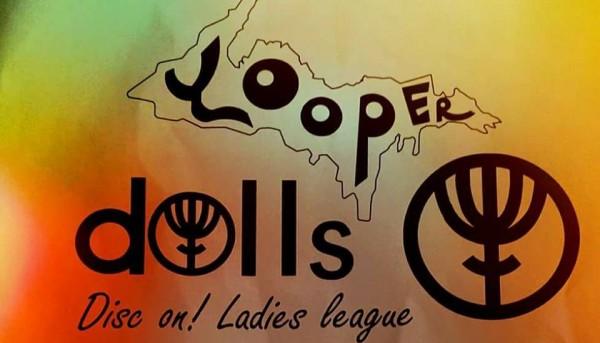 Yooper Dolls (Disc On! Ladies League) logo