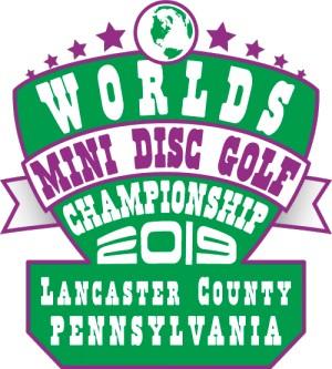 Mini Disc Golf World Championship logo