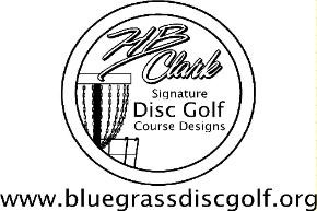 Bluegrass Disc Golf logo
