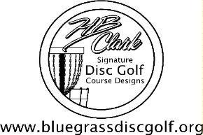 Bluegrass Disc Golf logo