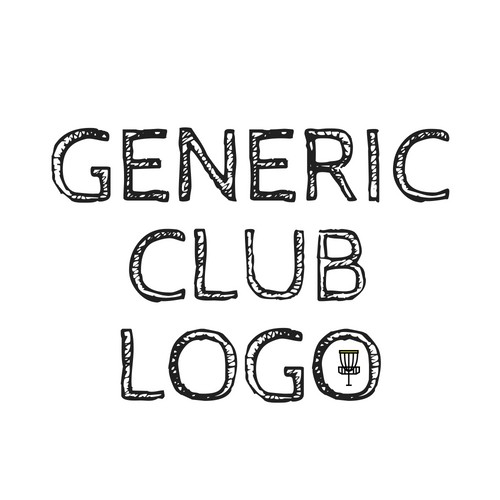 Generic Disc Golf Club logo