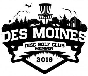 Des Moines Disc Golf Club logo