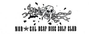 Northern California Deaf Disc Golf Club logo
