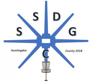 Standing Stone Disc Golf Club of Huntingdon County logo