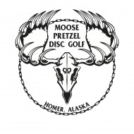 Moose Pretzel Disc Golf Club logo
