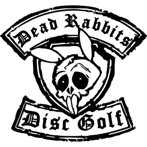Dead Rabbits Disc Golf Club logo