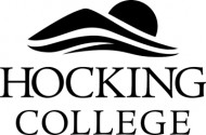 Hocking College Disc Golf logo