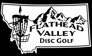 Flathead Valley Disc Golf (FVDG) logo