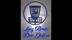Long Birdie disc golf club logo
