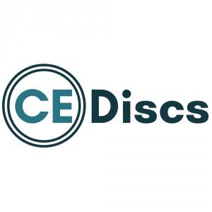 CE Discs logo